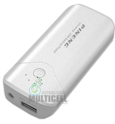BATERIA EXTERNA CARREGADOR PORTÁTIL POWER BANK PINENG PN-905 5000mAh 100% ORIGINAL