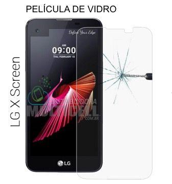PELÍCULA DE VIDRO K500 LG X SCREEN  2,5mm (SEM EMBALAGEM)