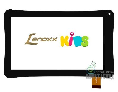 TELA VIDRO TOUCH SCREEN LENNOX TB-5500 TB5500 TB 5500 TABLET KIDS PRETO ORIGINAL