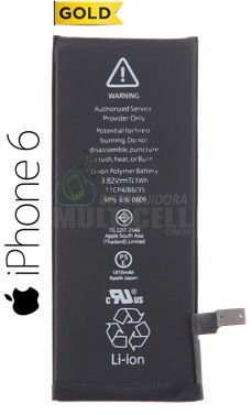 BATERIA APPLE A1549 A1586 A1589 IPHONE 6 4.7' 1ªLINHA AAA GOLD