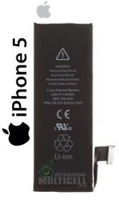 BATERIA APLLE A1428 A1429 IPHONE 5 5G APN 616-0613 ORIGINAL