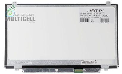 TELA LCD DISPLAY LED PARA NOTEBOOK N140BGE-E43  N140BGE-EB3 30 PINOS 14'' 14.0 1366 x 768 ORIGINAL