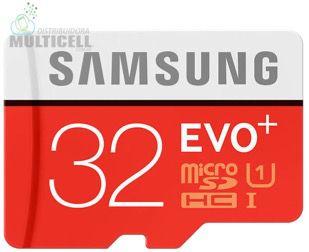 CARTÃO MICRO SD SAMSUNG UHS-I 32GB PRO EVO+ SDHC CLASS 10 VELOCIDADE 90 MB/s