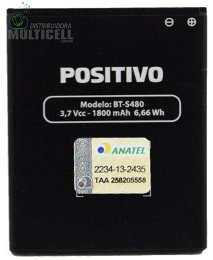 BATERIA POSITIVO MODELO BT-S480 S480 3.7V 1800mAh ORIGINAL