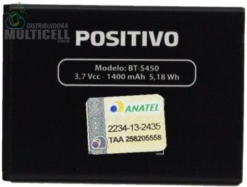 BATERIA POSITIVO MODELO BT-S450 S450 3.7V 1400mAh ORIGINAL