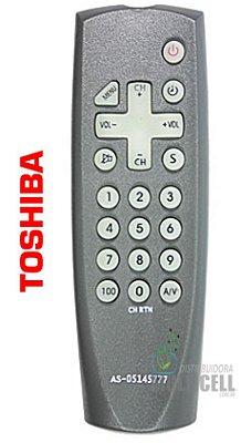 CONTROLE REMOTO PARA TV TOSHIBA ID-7180/YA-M005 1ªLINHA