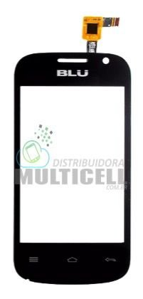 TELA TOUCH SCREEN BLU D141 D141W COM CAMERA FRONTAL PRETO ORIGINAL