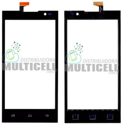 TELA VIDRO TOUCH SCREEN POSITIVO X400 PRETO ORIGINAL