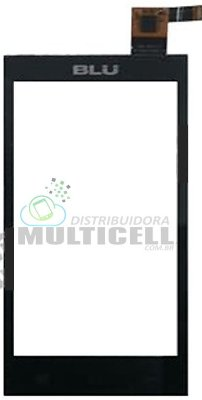 TELA VIDRO TOUCH SCREEN BLU DASH MUSIC D272 4.0 PRETO ORIGINAL