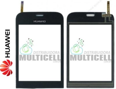 TELA VIDRO TOUCH SCREEN HUAWEI G7010 PRETO ORIGINAL