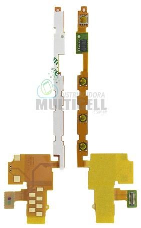 FLEX VOLUME E POWER SONY LT22I XPERIA P ORIGINAL