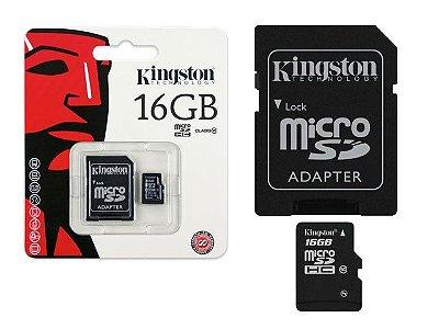 CARTÃO DE MEMÓRIA KINGSTON 16GB