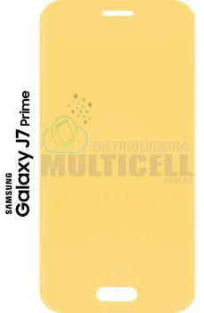 PELÍCULA DE GEL ANTI-IMPACTO SAMSUNG G610 GALAXY j7 PRIME (COBRE TODA A TELA)