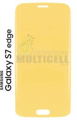 PELÍCULA DE GEL ANTI-IMPACTO SAMSUNG G935 GALAXY S7 EDGE  (COBRE TODA A TELA)