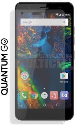 PELÍCULA DE VIDRO QUANTUM GO X900  2,5mm