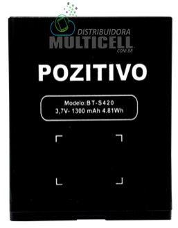 BATERIA POSITIVO MODELO BT-S420 S420 3.7V 1300mAh 1ªLINHA AAA