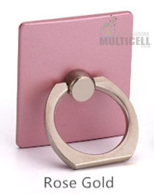 SUPORTE DE ANEL DE METAL RING HOLDER MOBILE ROSÊ