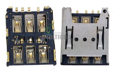 FLEX SLOT DE CHIP SIM CARD MOTOROLA XT1672 MOTO G5 ORIGINAL