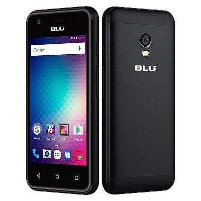 APARELHO CELULAR DESBLOQUEADO SMARTPHONE BLU D931L DASH L3 4.0 PRETO