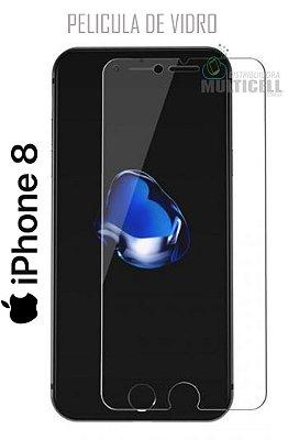 PELICULA DE VIDRO APPLE IPHONE 8 0,3mm (SEM EMBALAGEM)