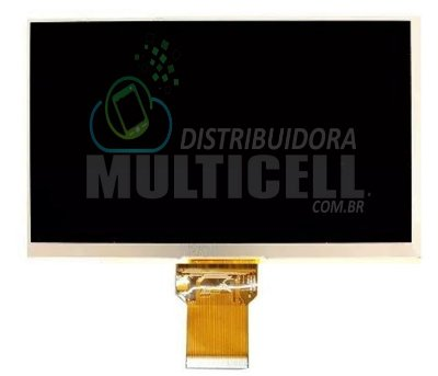 "DISPLAY LCD TABLET 7"" 50 VIAS 796 FS-M3G796GT  FOSTON ORIGINAL"