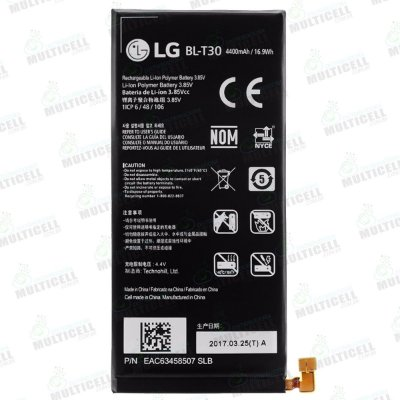 BATERIA LG BL-T30 BLT30 MG320 LG K10 POWER 1ªLINHA QUALIDADE AAA