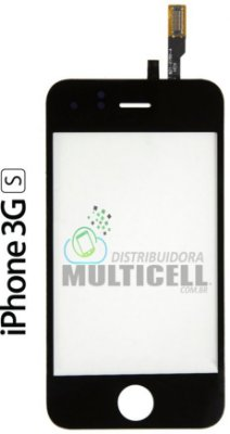 TELA TOUCH SCREEN APPLE IPHONE 3GS PRETO