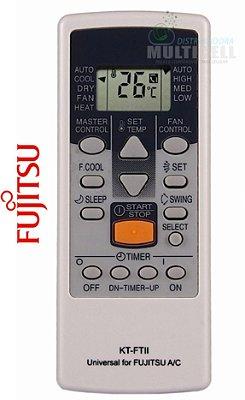 CONTROLE PARA AR CONDICIONADO SPLIT FUJITSU FBG-9040 1ª LINHA