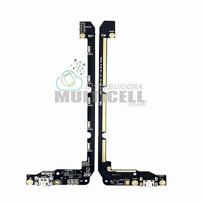 FLEX PLACA CONECTOR USB DOCK DE CARGA MICROFONE ASUS ZD551KL ZENFONE SELFIE ORIGINAL