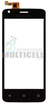 TELA TOUCH SCREEN MULTILASER P9009 9009 MS45 MS-45 1ªLINHA QUALIDADE AAA