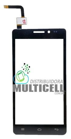 TELA TOUCH SCREEN MULTILASER P3272 MS5 MS-5 1ªLINHA QUALIDADE AAA