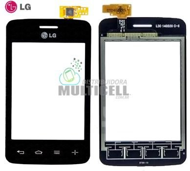 TELA TOUCH SCREEN LG D125 D127 L30 PRETO 100% ORIGINAL
