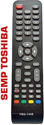 CONTROLE REMOTO TV LCD SEMP TOSHIBA FBG-7446 1ªLINHA