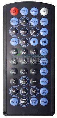 CONTROLE PARA DVD AUTOMOTIVO SKY-7955 H-BUSTER 1ª LINHA