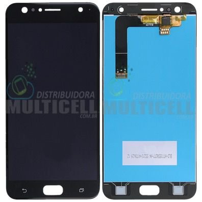 GABINETE FRONTAL DISPLAY LCD MODULO COMPLETO ASUS ZD553KL ZENFONE 4 SELFIE  PRETO 1ª LINHA QUALIDADE AAA