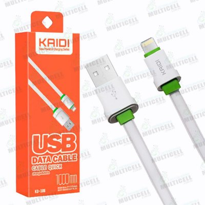 CABO USB LIGHTNING APLLE IPHONE KAIDI KD-306 ORIGINAL