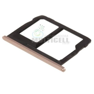 GAVETA CHIP SIM CARD SD MOTOROLA XT1803 XT1805 XT1806 MOTO G5S PLUS DOURADA QUALIDADE AAA