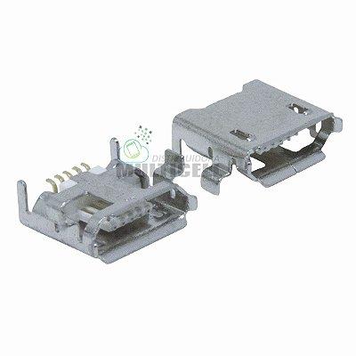 CONECTOR DE CARGA USB DOCK UNIVERSAL GVP8 PARA TABLETS CAIXA DE SOM (5 TRILHAS BASE ABERTA)