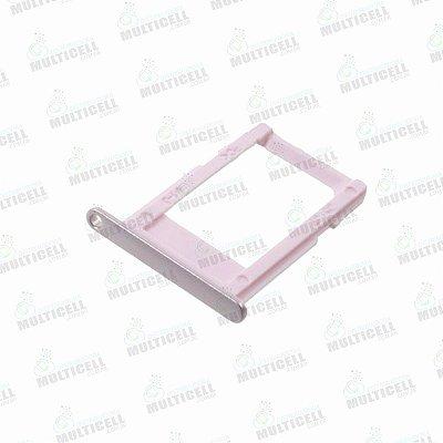 GAVETA DE CHIP (SIM 1) SAMSUNG G610 G611 J7 PRIME G570 J5 PRIME ROSA ROSE ORIGINAL