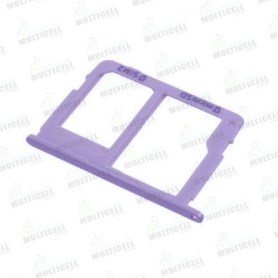 GAVETA DE CHIP SAMSUNG J810 GALAXY J8 LILAS (CHIP 2 + SIM CARD) ORIGINAL