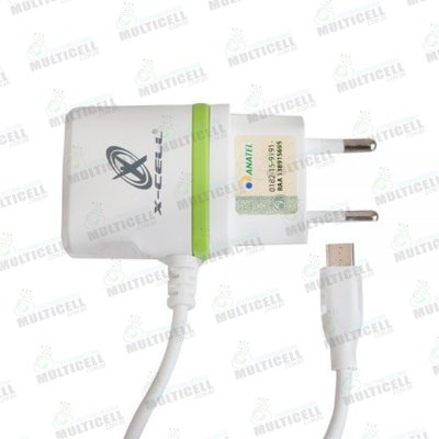 CARREGADOR MICRO USB V8 ULTRA RAPIDO CASA PAREDE X-CELL 2.8A COM ENTRADA USB EXTRA