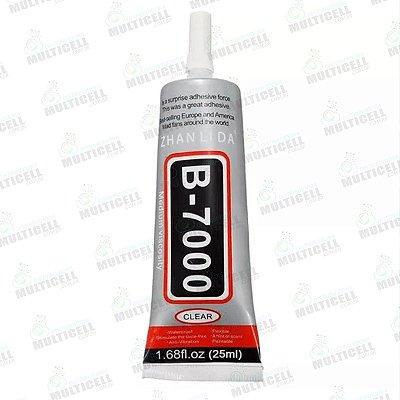 COLA MULTIUSO B7000 B-7000 PARA REPARO DE TELA TOUCH SCRENN CELULAR E TABLET 25ml
