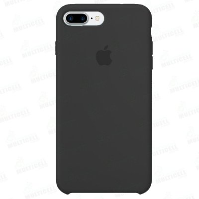 CAPA CASE SILICONE APLLE IPHONE 7 PLUS IPHONE 8 PLUS MMWF2ZM/A PRETA