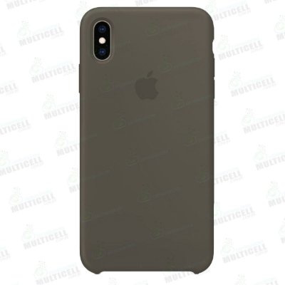 CAPA CASE SILICONE APLLE IPHONE XS MAX MTFE2FE/A MARROM
