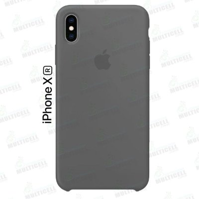 CAPA CASE SILICONE APLLE IPHONE XR MMWF2ZM/A CINZA ESCURO