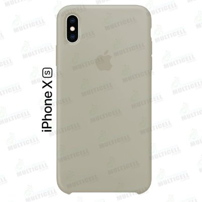 CAPA CASE SILICONE APLLE IPHONE XS MMWF2ZM/A CREME ESCURO