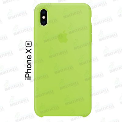 CAPA CASE SILICONE APLLE IPHONE XS MMWF2ZM/A VERDE FLUORESCENTE