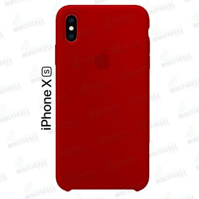CAPA CASE SILICONE APLLE IPHONE XS MMWF2ZM/A VERMELHO