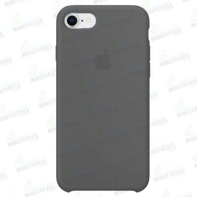 CAPA CASE SILICONE APLLE IPHONE 7 IPHONE 8 MMWF2ZM/A CINZA ESCURO