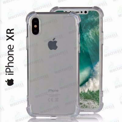 CAPA CASE SILICONE TPU TRANSPARENTE ANTI-SHOCK ANTI-IMPACTO APLLE IPHONE XR